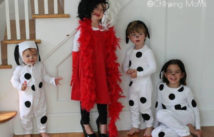 Easy DIY Costume: 101 Dalmatians