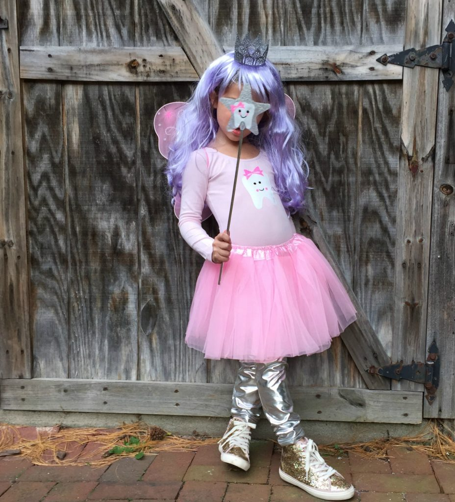 Easy Diy Halloween Costume For Kids The Tooth Fairy