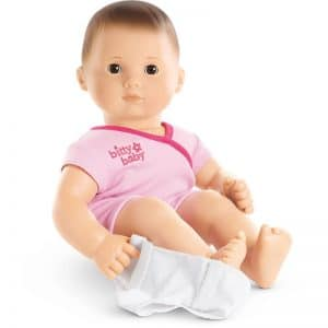 Gifts for Toddlers- Bitty Baby from American Girl. They are well made and you can add on accessories as other gifts for the holidays or upcoming birthdays! thechirpingmoms.com