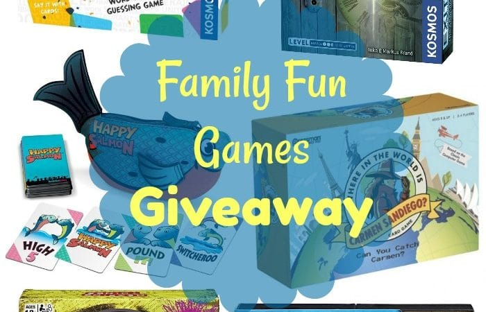 The 12 Days of Toys: Day 6, Family Fun Games