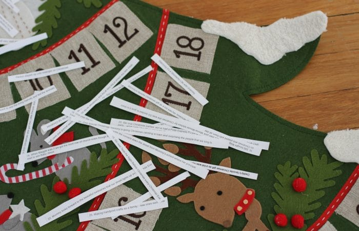 A Fun New Way to Fill An Advent Calendar