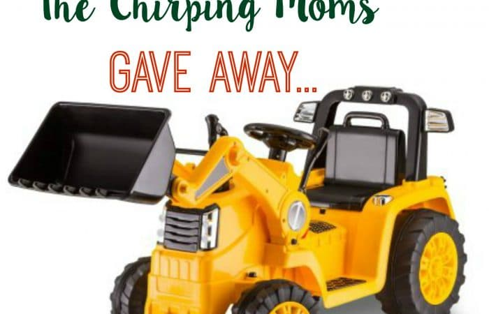 The 12 Days of Toys: Day 5, Powered Ride-On CAT Bulldozer/Tractor from KidTrax
