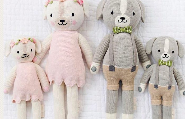 The 12 Days of Toys: Day 4, Cuddle & Kind Hand-Knit Doll