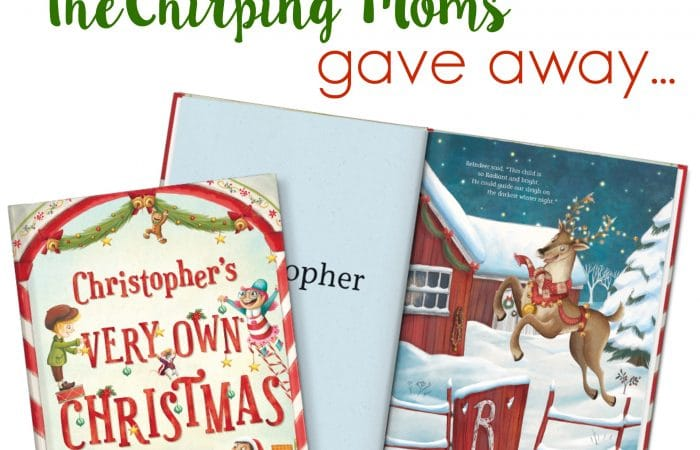 The 12 Days of Toys, Day 10: My Very Own Christmas Personalized Book