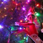 An Easy and #HelpfulScoutElf on the Shelf Idea