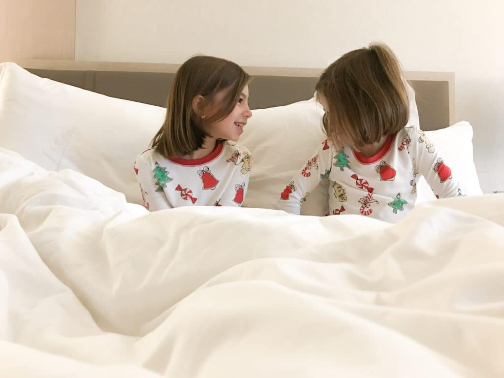 Snuggly pajamas from Beaufort Bonnet Company in Four Seasons Resort NYC