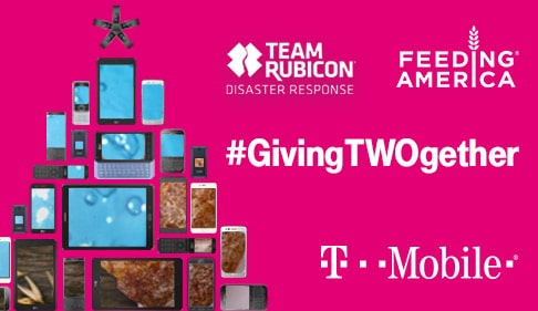T-Mobile's #GivingTWOgether Phone Drive