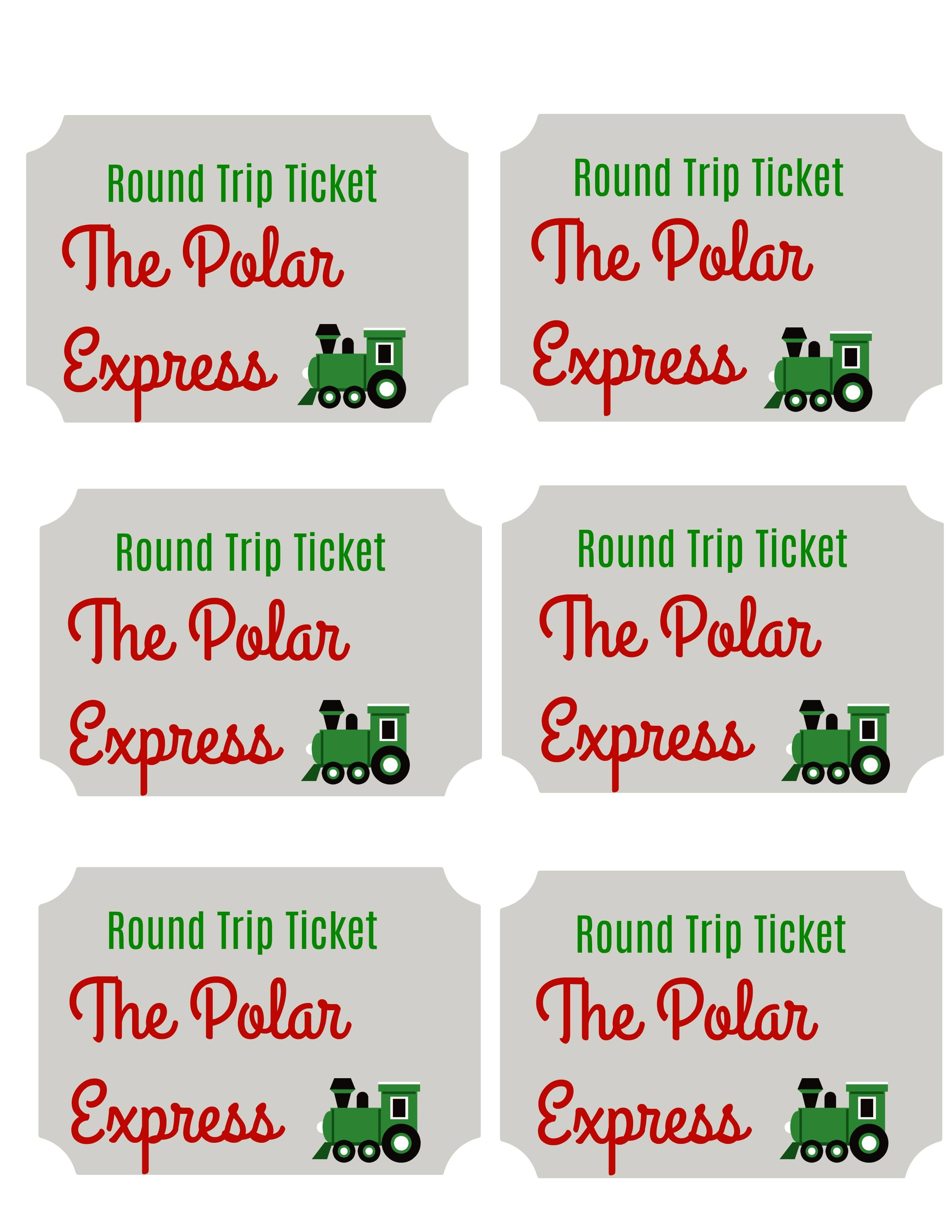image about Polar Express Ticket Printable named Polar Categorical Printable Tickets - The Chirping Mothers