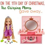 The 12 Days of Toys, Day 11: Disney Princess Vanity & Glow N' Style Rapunzel