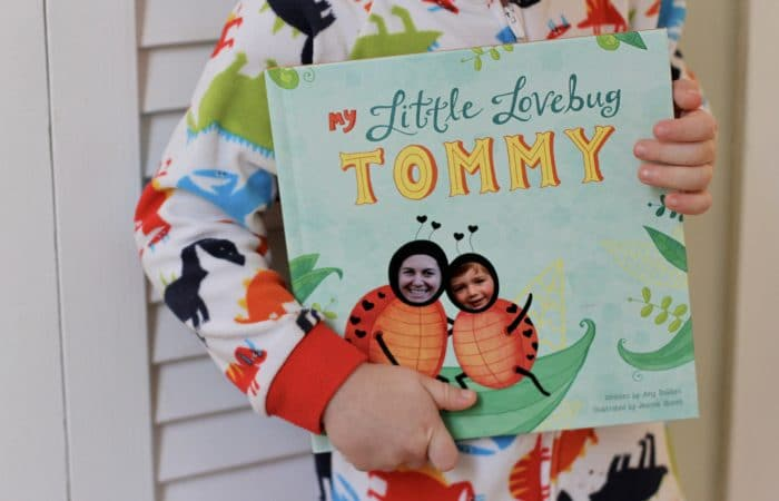 Personalized Valentine's Day Book For Kids {& Giveaway}