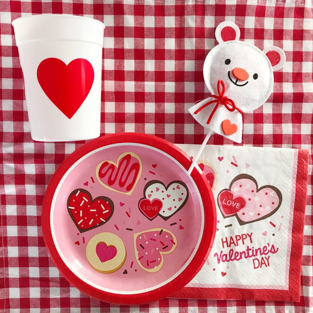 Make the classroom look like a festive party with this cute tableware! I found all of this on Oriental Trading.com. I love the heart cups because weu0027ll ...  sc 1 st  The Chirping Moms & Easy Valentineu0027s Day Class Party Ideas for All Ages