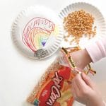 Simple Rainy Day Craft: Paper Plate Instruments