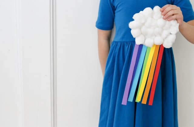 An Easy Rainbow Craft for Kids