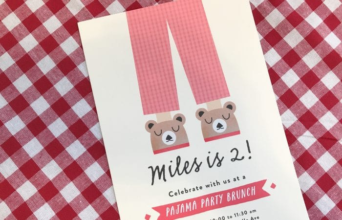 Easy Birthday Party Theme: PJ Party Brunch
