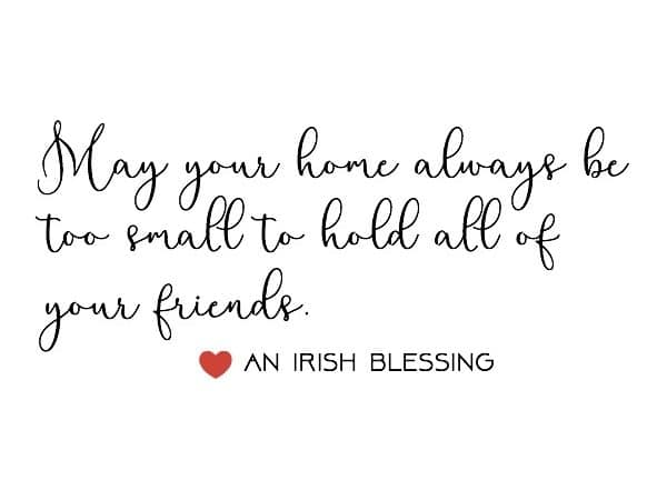 On Gratitude and An Irish Blessing