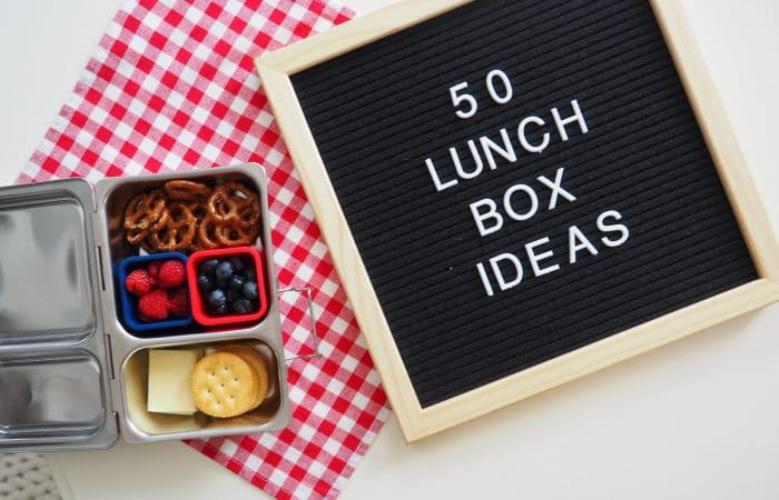 Lunch Packing Hacks: 50 Things to Put in a Lunchbox