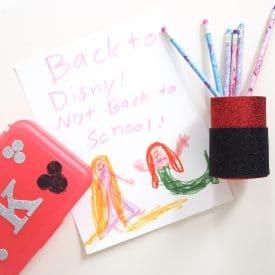 Easy Disney Crafts: Two Fun Mickey Crafts for School