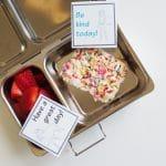 Free Printable Spirit Riding Free Lunch Box Notes & A Fun Recipe