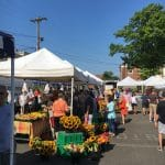 Visiting Farmers Markets with Kids