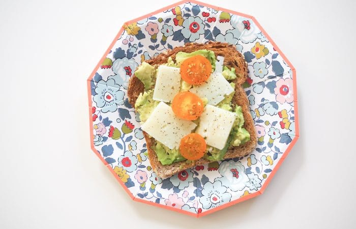 Avocado Toast with Pecorino Cheese