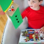 Christmas Paper Bag Puppets & A New Book