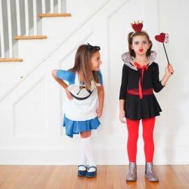 DIY Alice in Wonderland and The Queen of Hearts