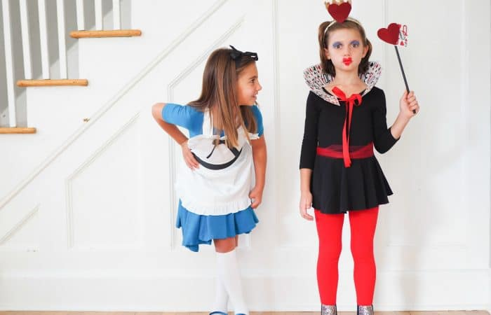 DIY Alice in Wonderland and The Queen of Hearts