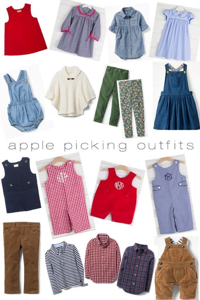apple picking outfits for kids