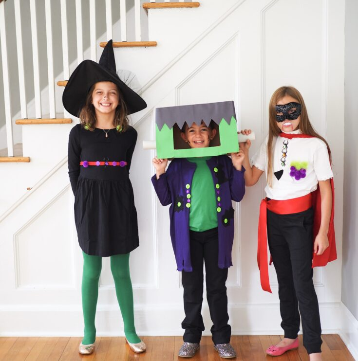 Diy Classic Halloween Costumes And A Primary Coupon The