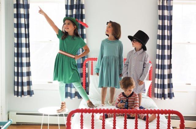 DIY Group Costume: Peter Pan, Wendy, Michael & John