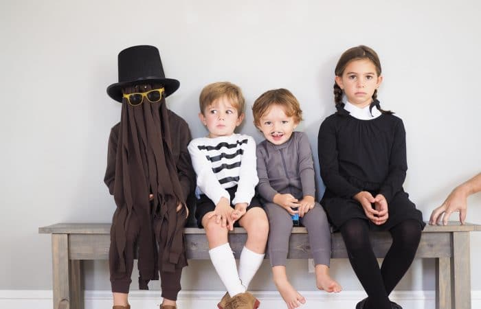Easy DIY Costume: The Addams Family