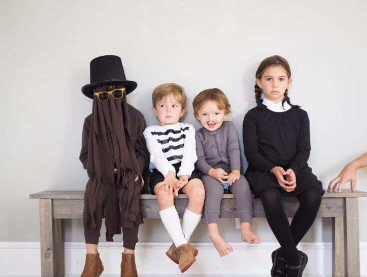 Easy DIY Costume: Wednesday from The Addams Family