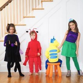 DIY Group Costume: The Little Mermaid