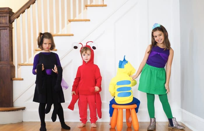 DIY Group Costume: The Little Mermaid