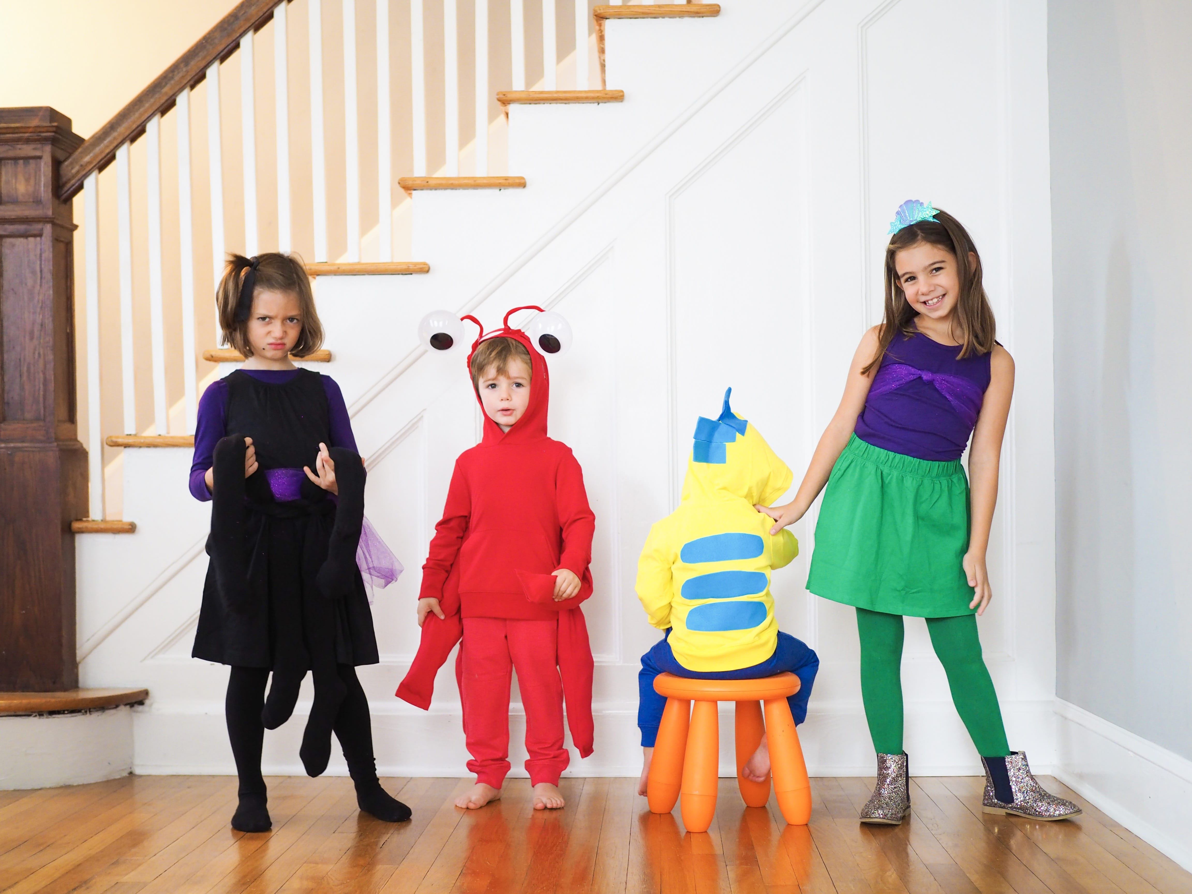 508033ccd DIY Group Costume: The Little Mermaid Cast - The Chirping Moms