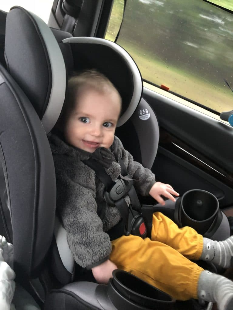 Review Evenflo Everystage Dlx All In One Car Seat The Chirping Moms
