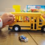 An Easy DIY Road & Town with PLAYMOBIL