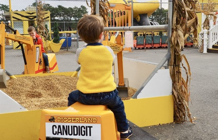 Family Travel: Diggerland USA