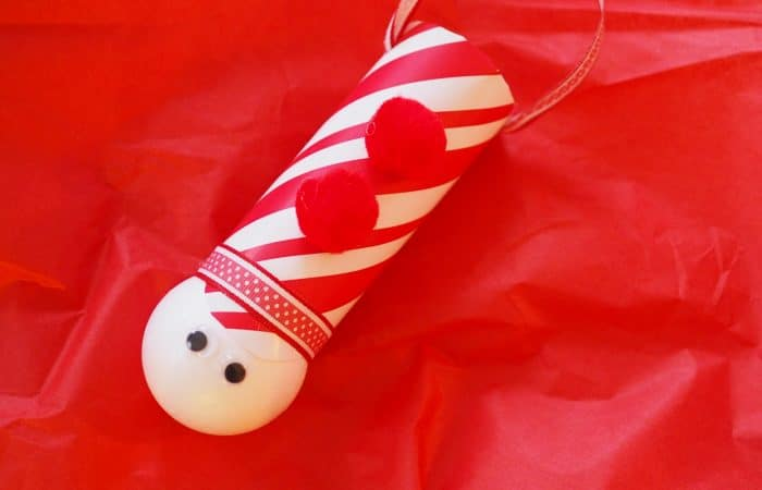 Easy Christmas Craft for Kids: Nutcracker Toy Soldier Ornament