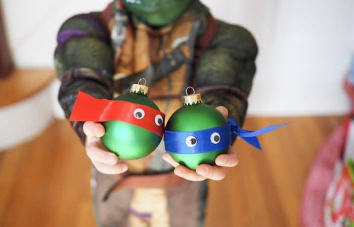 Christmas Craft: Easy Ninja Turtle Ornament