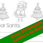 Dear Santa Letter: 2 Free Printable Letters