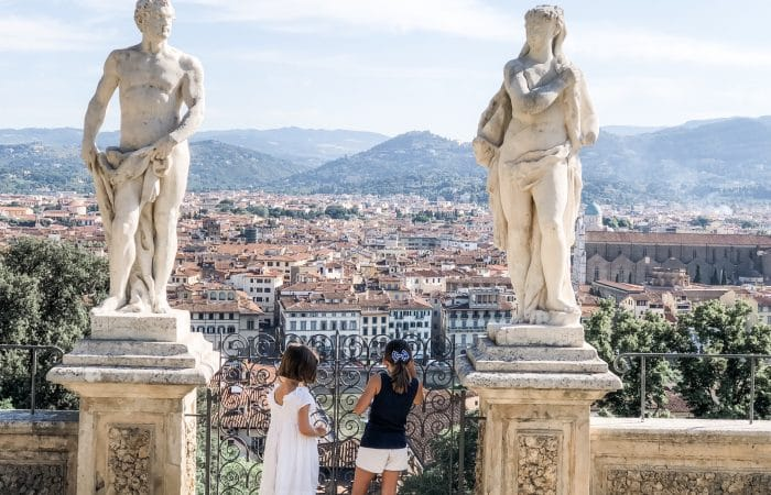 Florence Italy with Kids: Bardini Gardens