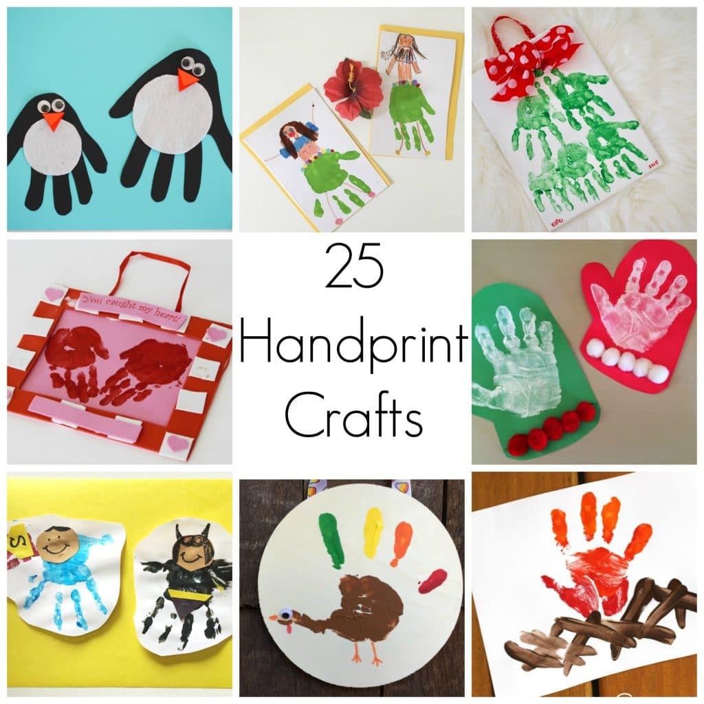 25 handprint crafts