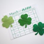 Monthly Meal Planning Calendar: March