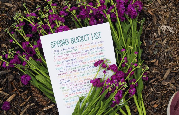 50 Things to Do This Spring (Free Printable)