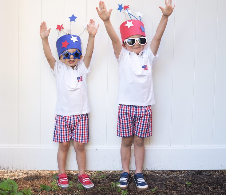 DIY Patriotic Hat Craft
