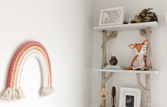 DIY Rope Rainbow