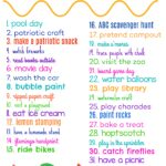 July Activity Planner for Kids (& Free Printable)