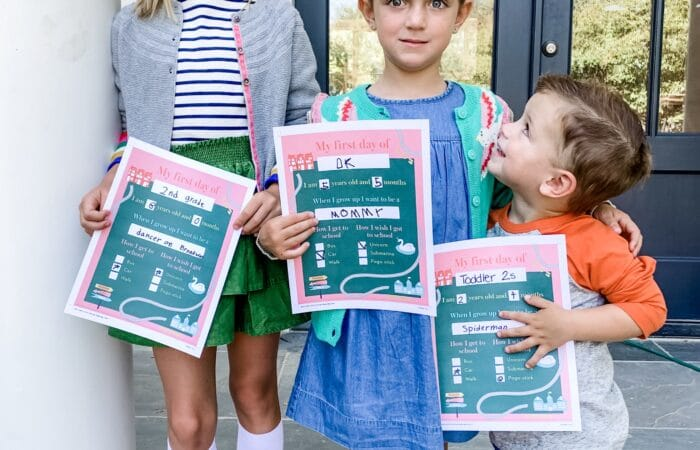 Back to School with Mini Boden & Their FREE Printable