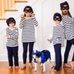 Fun Family Halloween Costume with the Dog